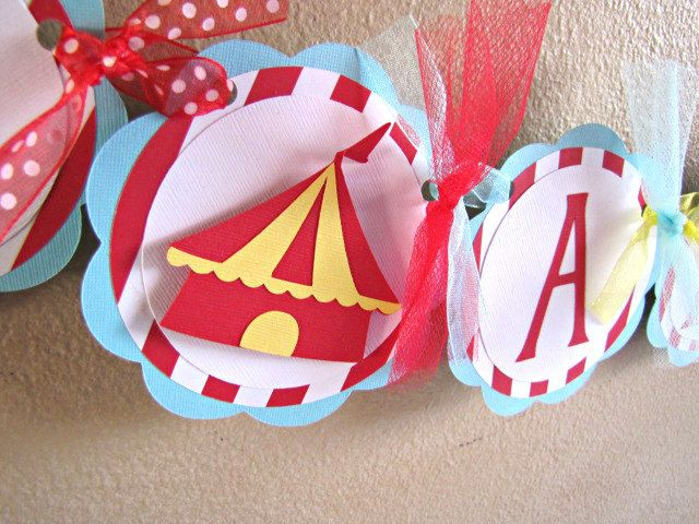 Circus Party High Chair Banner, I Am 1 Circus Banner, Carnival High Chair Banner, Circus Birthday Banner, Circus 1st Birthday Banner, Small by ScrapYourStory on Etsy