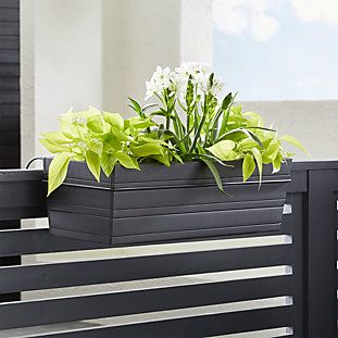 Tidore Deck Rail Planter Crate And Barrel Outdoor 640 x 480