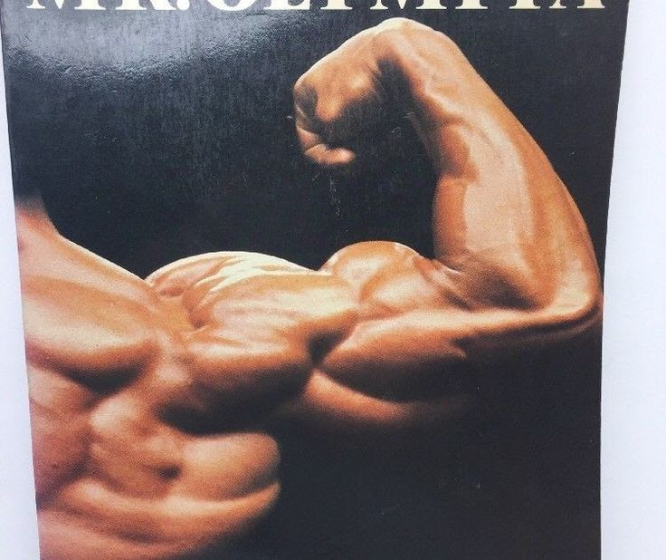 Vintage Book Mr Olympia Joe Weider Body Building History
