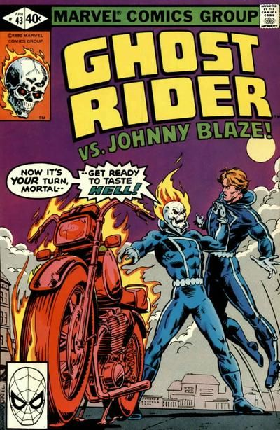 Cover for Ghost Rider (Marvel, 1973 series) #43 April 1980