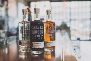 Old Harbor Distilling Co. — The Dieline