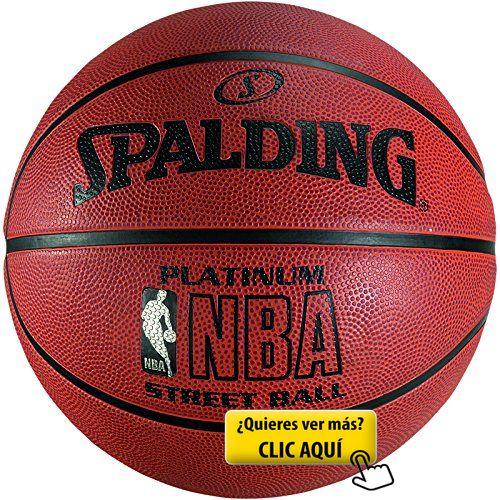 Spalding NBA Platinum Streetball Balón de baloncesto, Unisex adulto, Ladrillo, 7 #balon #basket