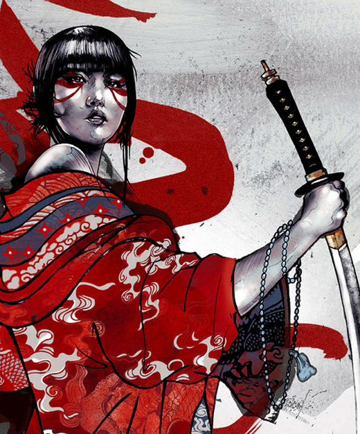 Japanese Tattoo Wallpaper: 95 Best Female Warriors Images On Pinterest