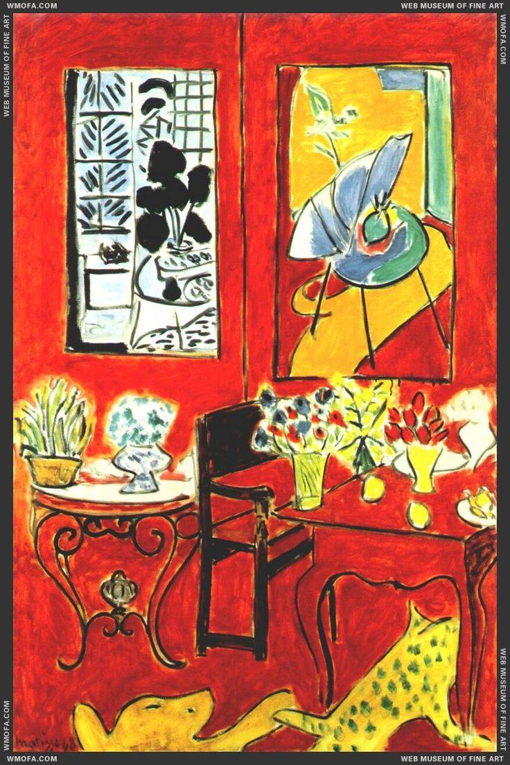 Large Red Interior 1948, Matisse | Colors | Pinterest ...