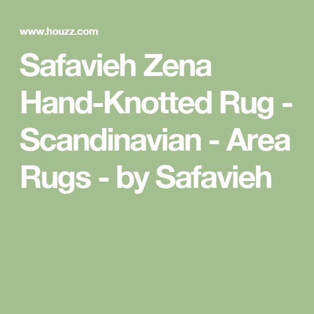 Safavieh Zena Hand-Knotted Rug - Scandinavian - Area Rugs - by Safavieh