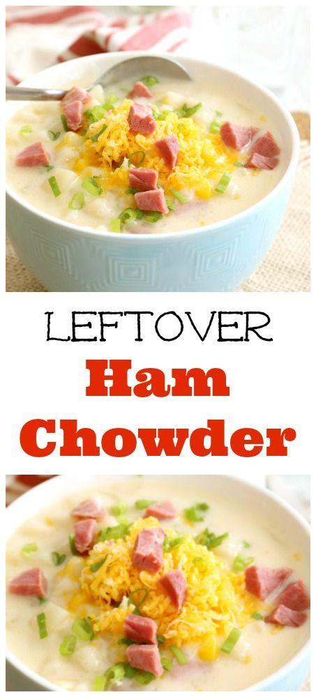 Leftover Ham Chowder | Kitchen Dreaming