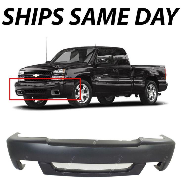New Primered - Front Bumper Cover For 2003-2007 Chevy Silverado 1500 SS 03-07 | eBay Motors, Repuestos y accesorios, Repuestos para autos y camiones | eBay!