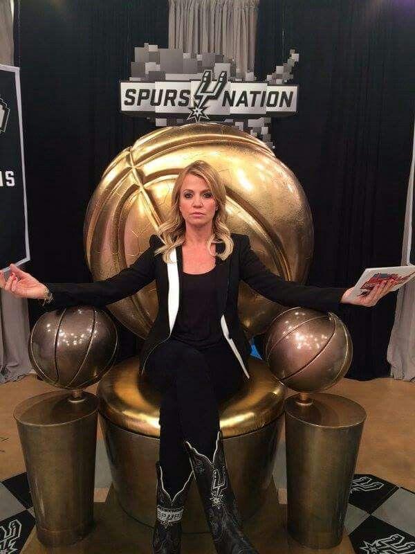 Michelle Beadle. SpursNation. Go Spurs Go
