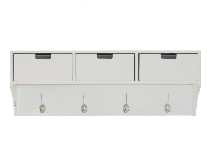 ALF Vägghylla 80 Svart i gruppen Inomhus / Förvaring / Hallmöbler hos Furniturebox (100-25-22120)