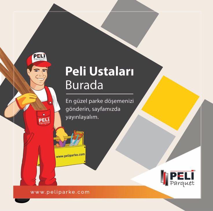 Peli Parke ustaları burada... Peli Parke ile yapmış olduğunuz en özel zemin döşemelerinden fotoğraflarınızı bizimle paylaşın, sayfamızda yer verelim. Sayfamızın mesaj bölümünden veya info@peliparke.com mail adresinden gönderebilirsiniz.