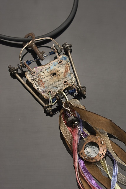 relic necklace by Riki Schumacher, via Flickr