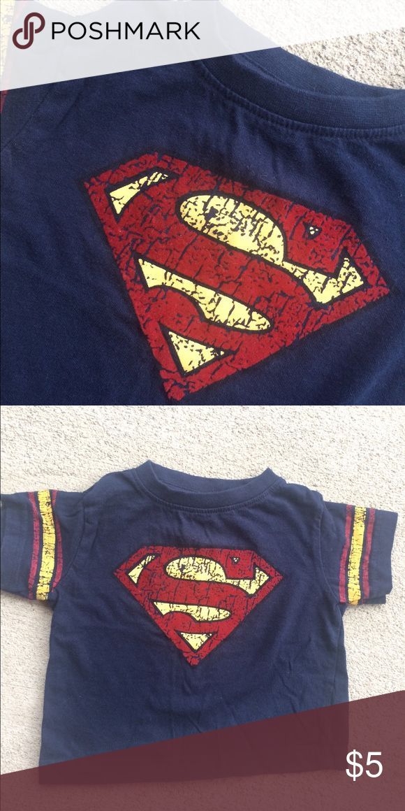 Superman Tee Super cute superman tee. Bundle with my other items and save 💰💰💰 DC Comics Clothing Shirts & Tops Tees - Short Sleeve