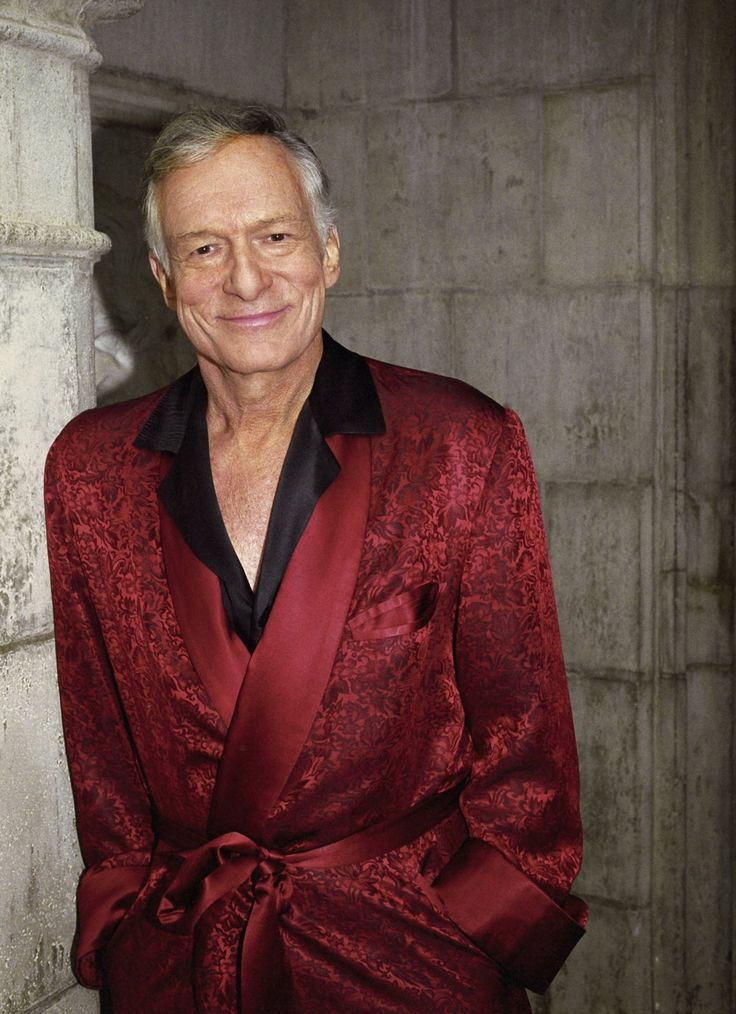 Hugh Hefner - To Trust for Public Land to save the iconic Hollywood sign from being plowed under in order to make room for four luxury homes.