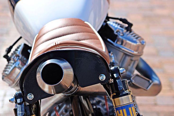 V - 1 exhaust