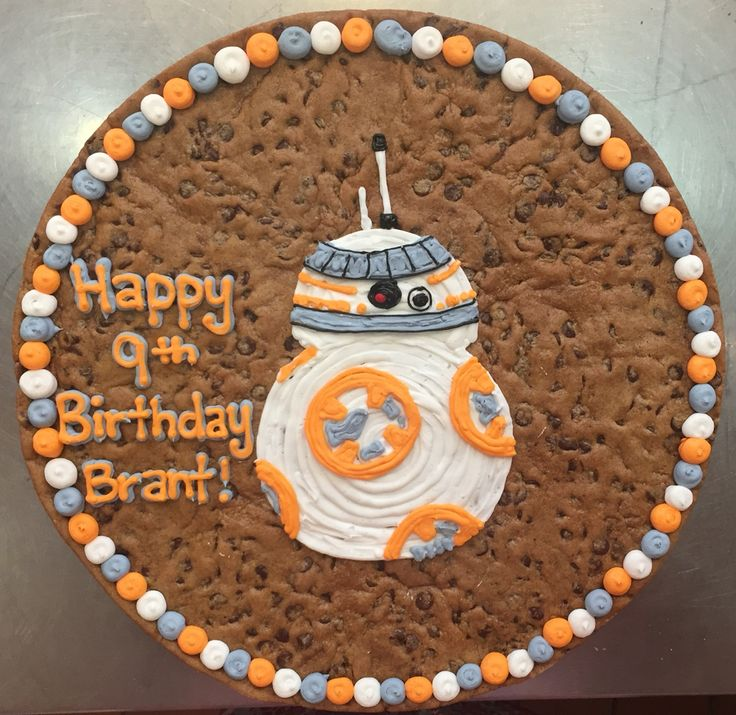 Bb 8 My New Favorite Droid Cookie Cakes Pinterest