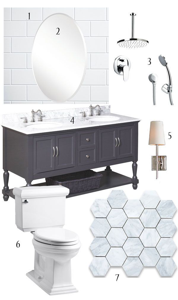 Our Plan for the Master Bathroom (Which is Now Underway!)