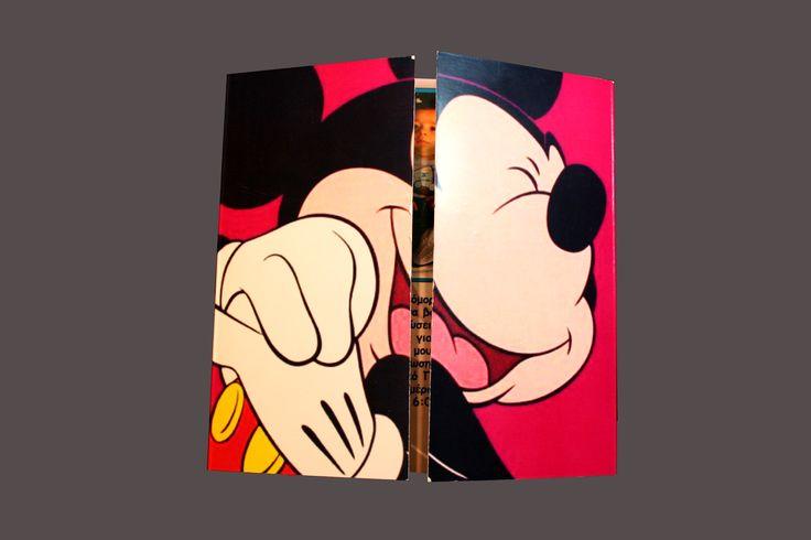 mickey mouse πορτούλα
