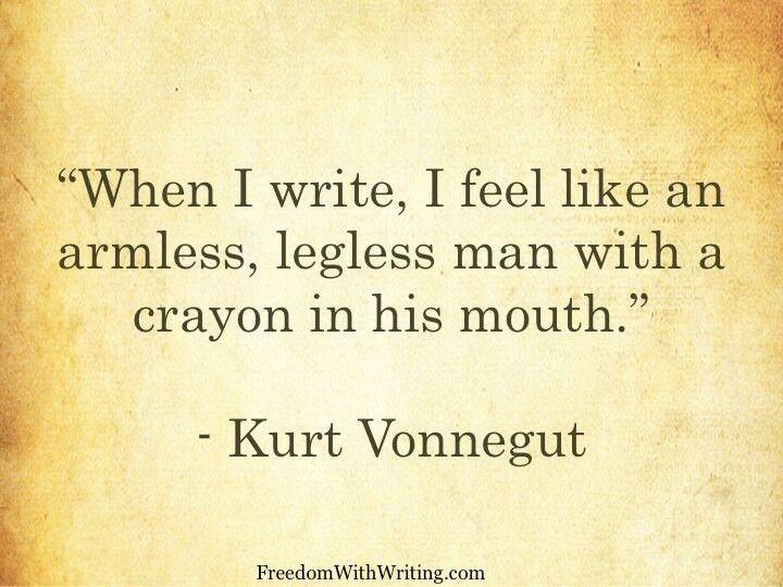 Kurt Vonnegut's Eight Rules for Writing a Short Story