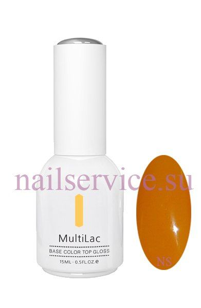 Гель-лаковое покрытие MultiLac (классический, Янтарь, Amber), 15 мл. RuNail. Цена 380 руб.