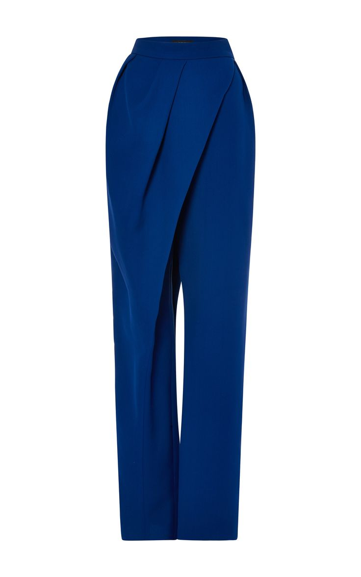 High Waist Wrap Pant by Vika Gazinskaya for Preorder on Moda Operandi
