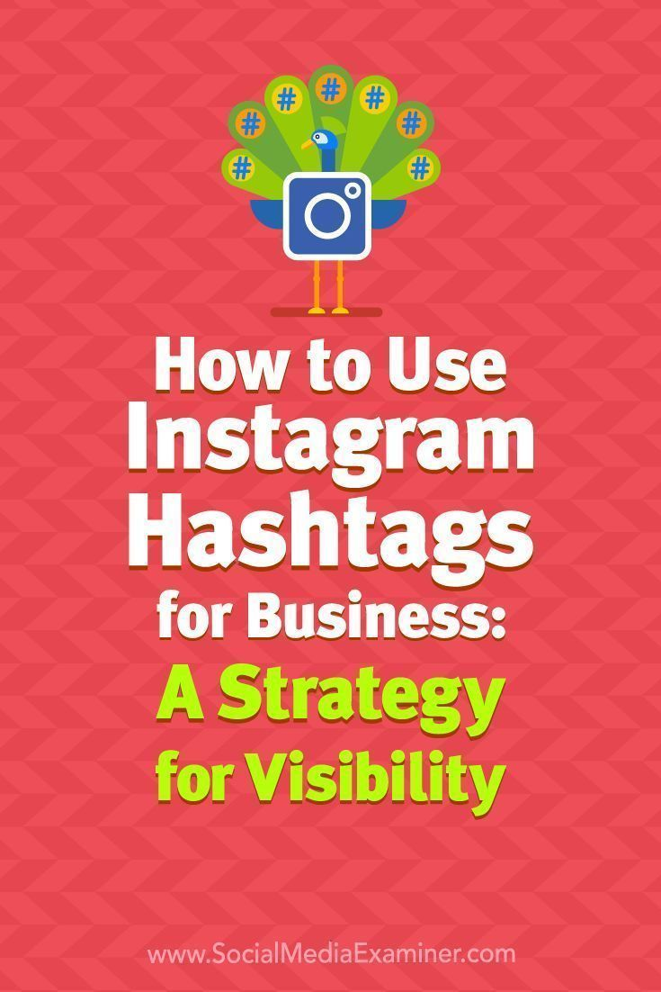 How to Use Instagram Hashtags for Business: A Strategy for ...