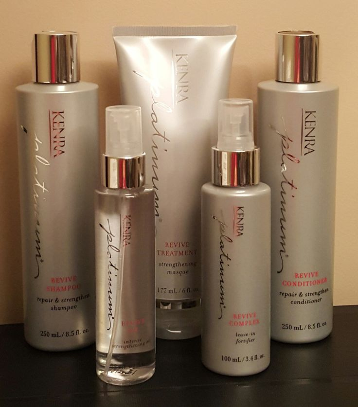 Kenra Platinum Revive System:  Reduce Hair Breakage Up to 95%!