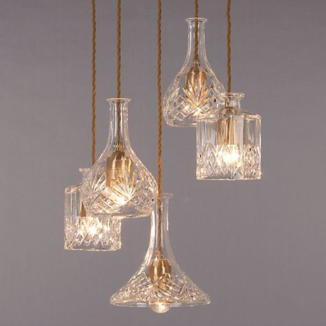 Lee Broom Decanter Chandelier Online at johnlewis.com  Alternative idea for top of stairs