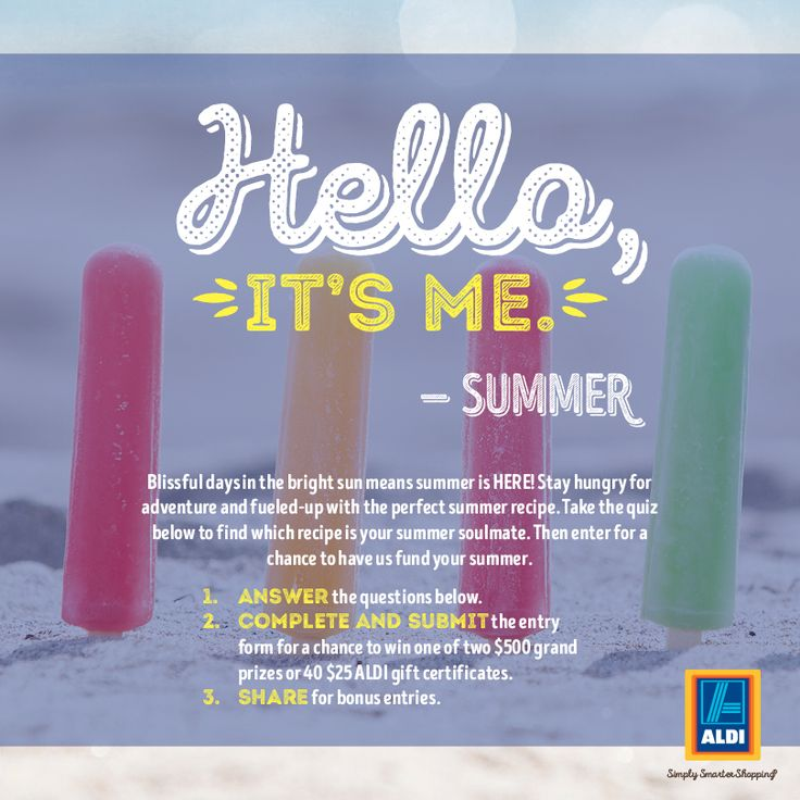 Best Summer Ever Sweepstakes | Sweepstakes today