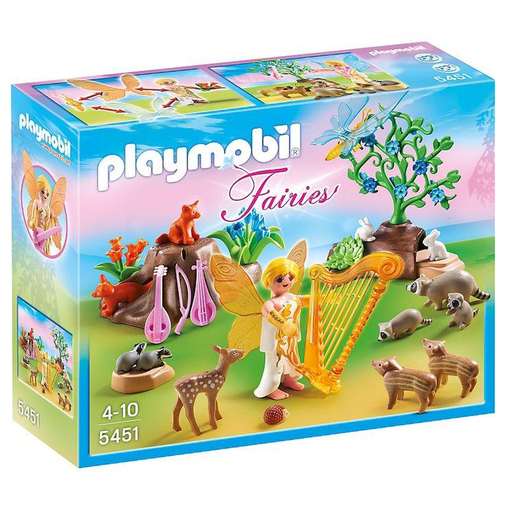 Playmobil Wróżki Wróżka harfy na leśnym koncercie, 5451, klocki