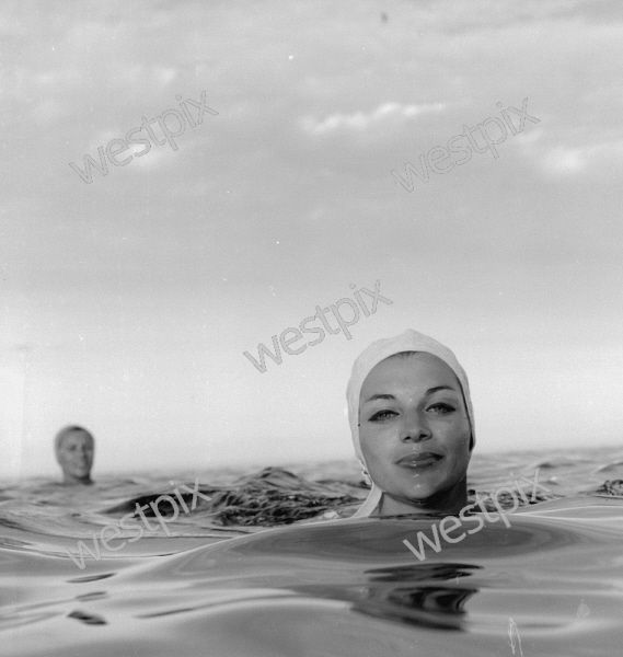 Available to purchase as a print or download at www.westpix.com.au. PICTURE OF MARGARET TABBERER SWIMMING AT ROTTNEST ISLAND.
