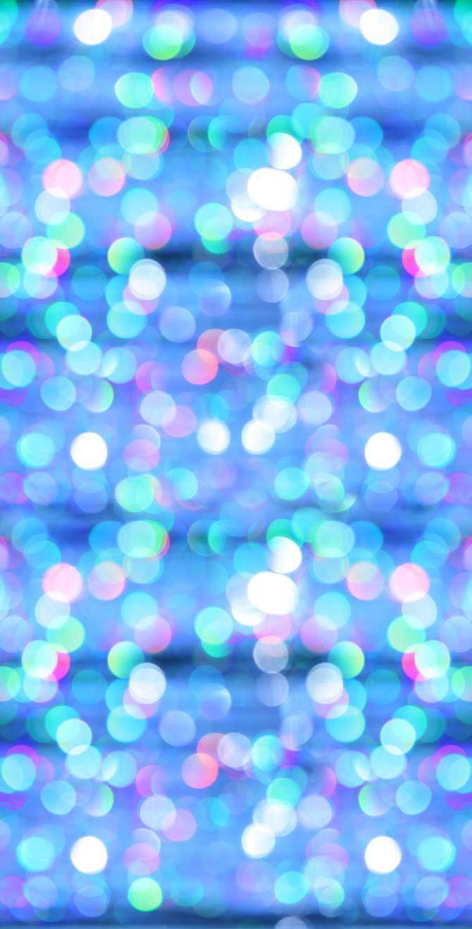 Bokeh Glitter Blue Sky Photo Background - 1379 #GlitterPhotography #GlitterBackground