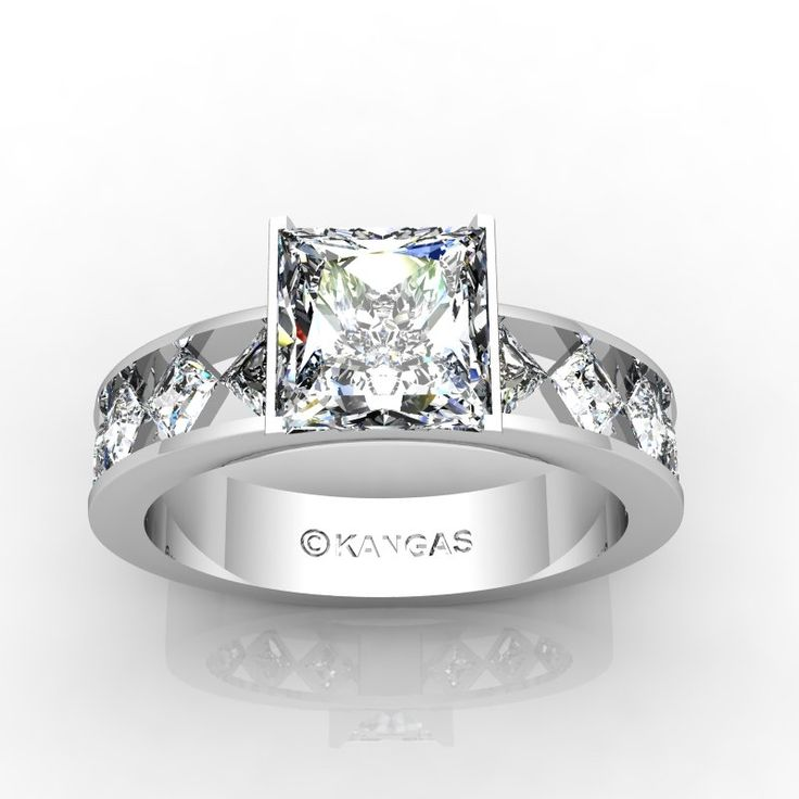 16 Best Custom Diamond Ring Concepts Images On Pinterest