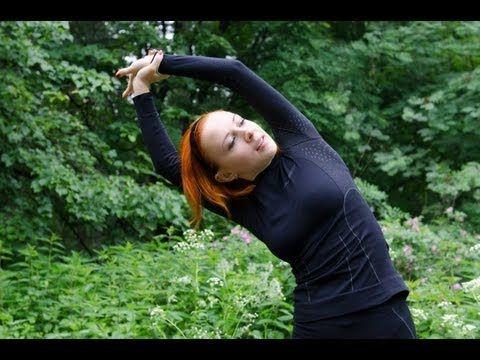 Утренняя зарядка на 10 минут | Растяжка (стретчинг) | Тренировка №7 (3) - YouTube