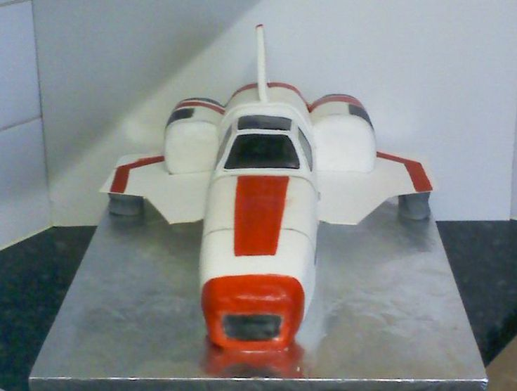 June 2012 - My Nephews loved playing Battlestar Galactica - Viper MK2 - so we made this for Lees 14th...