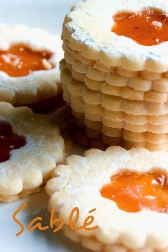 Mangez tunisien: Sablé à la confiture (سابلى)