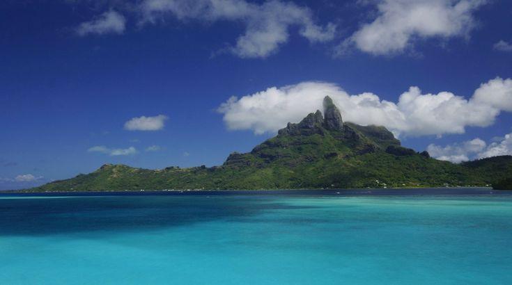 La Polynésie française et ses paysages de cartes postales...