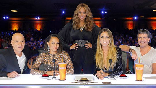 See NBC's hit show live and join new host Tyra Banks and celebrity judges Howie Mandel, Heidi Klum, Mel B, and Simon Cowell in the live audience! America's Got Talent is a true celebration of the American spirit, featuring a colorful array of singers, dancers, comedians, contortionists, impressionists, jugglers, magicians, ventriloquists and hopeful stars, all vying for their chance to win America's hearts and the $1 million prize. <br /> <br /> Here's to...