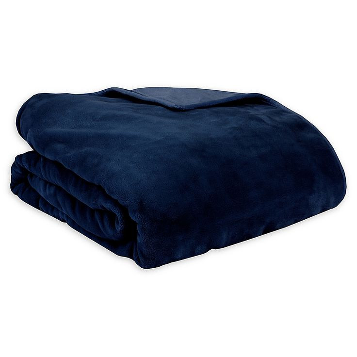 Therapedic Reversible 20 Lb Large Weighted Blanket In Navy Weighted Blanket Blanket Medium Blankets