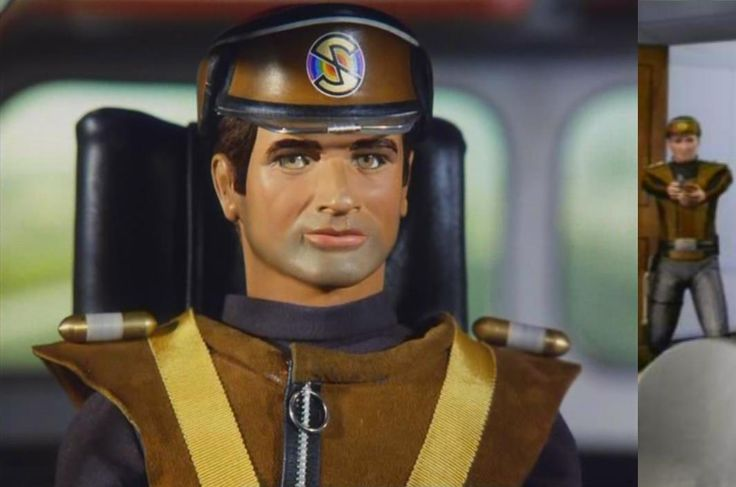captain scarlet and the mysterons | Captain Brown- Alan Stephens - Gerry Anderson's Captain Scarlet And The Mysterons
