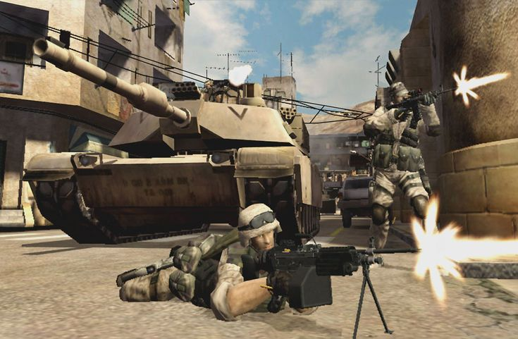 Battlefield 2 was awesome.