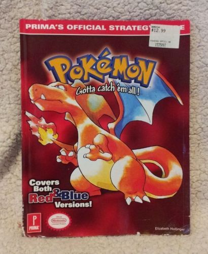Pokemon Red Game Guide (Wanted)
