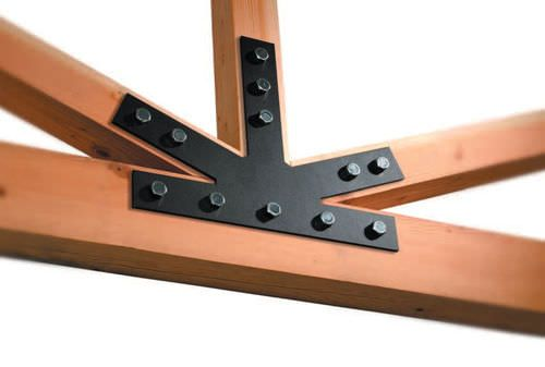 7 Best Wooden Beam Brackets Images On Pinterest Carpentry Beams And Ceiling Beams