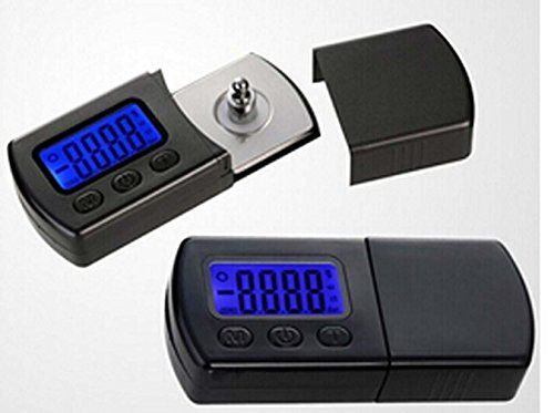 Yosoo Professional NEW Version LP Digital Turntable Stylus Force Scale Gauge led dzr For MM/MC/MI and piezoelectric acoustical pickup