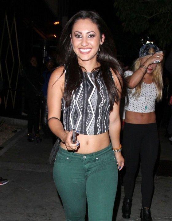 Francia Raisa is known for playing Adrian Lee in The Secret Life of the American Teenager...
