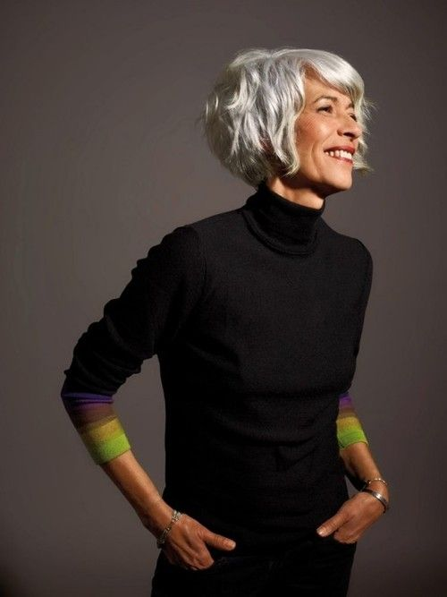 I hope as I age that my hair can look this effing cute!