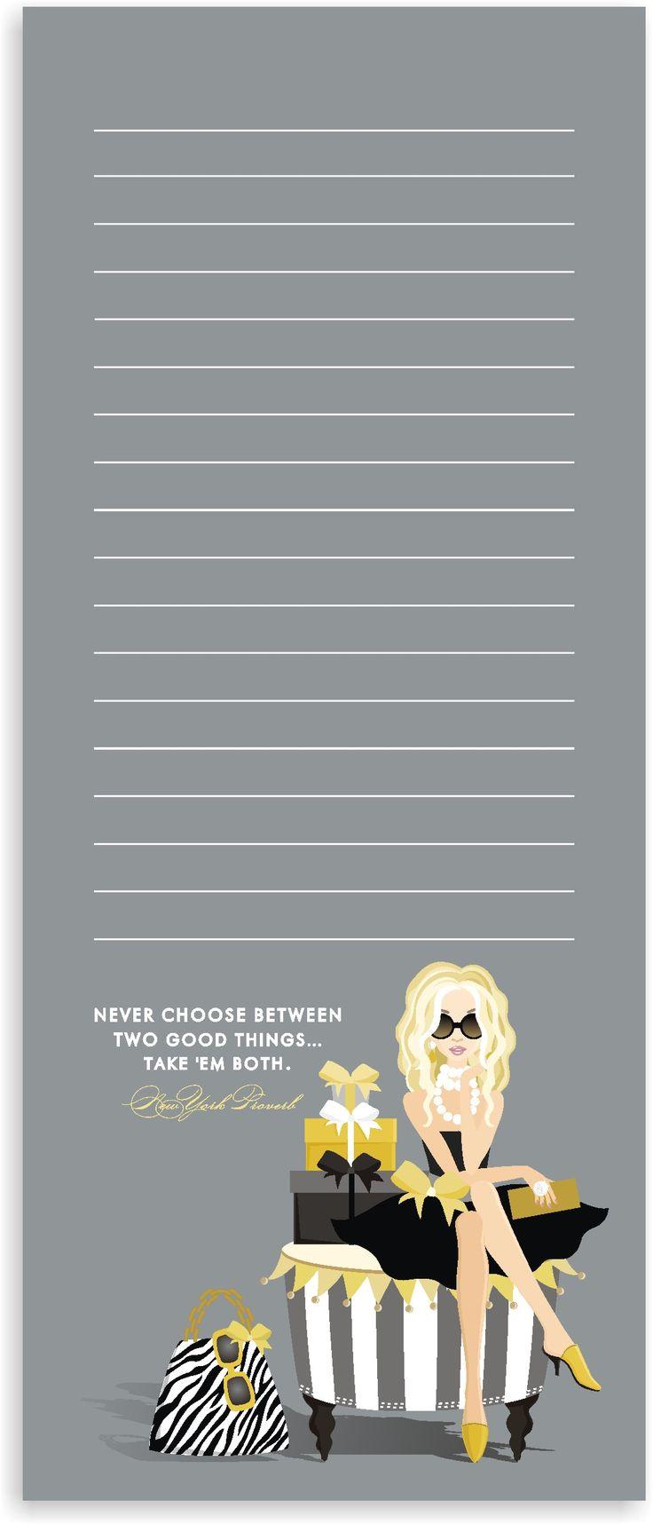 Order notepads