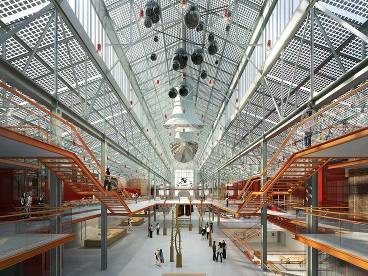 Renzo Piano é selecionado para converter um antiga usina em centro de artes em Moscou,Cortesia de V-A-C Foundation
