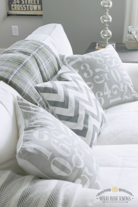 CHEAP THROW PILLOWS! I had no idea this section existed at my favorite home decor store! Only $12 for the pillow insert AND pillow cover! Throw pillows can be SO expensive so this is great information!