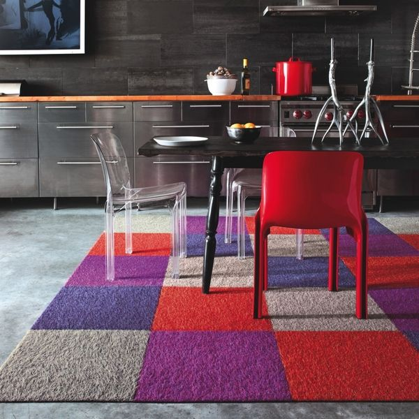 Remodeling Ideas For Renters    Stuff You Can Undo Later. Hereu0027s A Floating  Rug