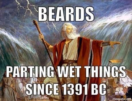 Beards have been everywhere since the beginning of time. www.beardbalm.us